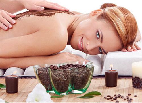 применение кофейного скраба на коже тела