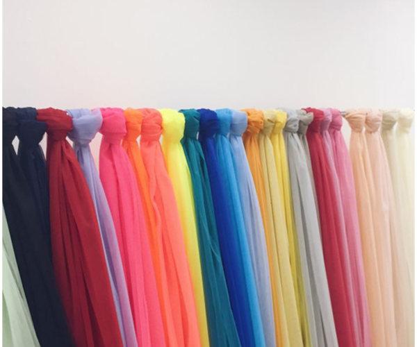 Фатин разных расцветок