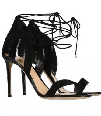 Босоножки Armani со шнуровкой