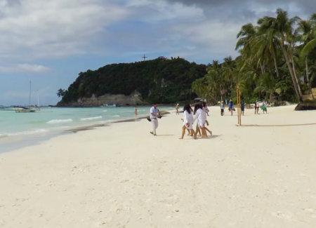пляж боракая