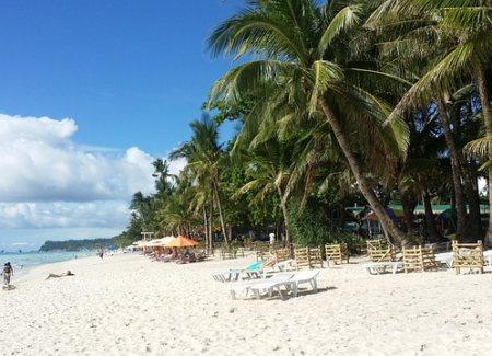 филиппины, боракай, пляж